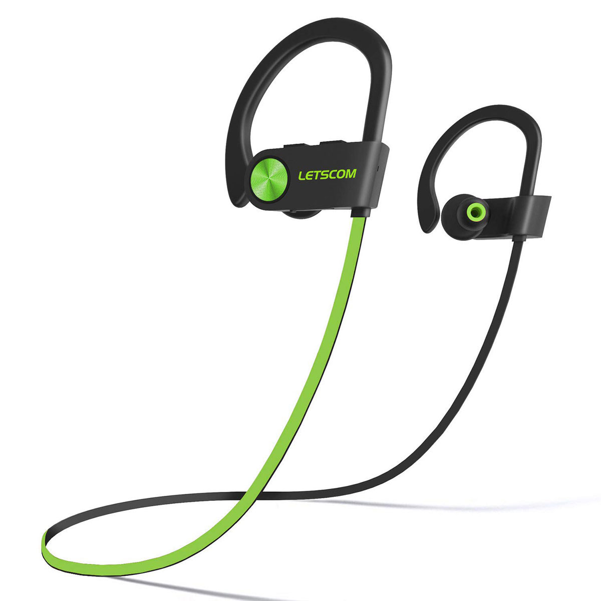 LETSCOM U8I Wireless Bluetooth HiFi Bass Stereo Sport Earphones