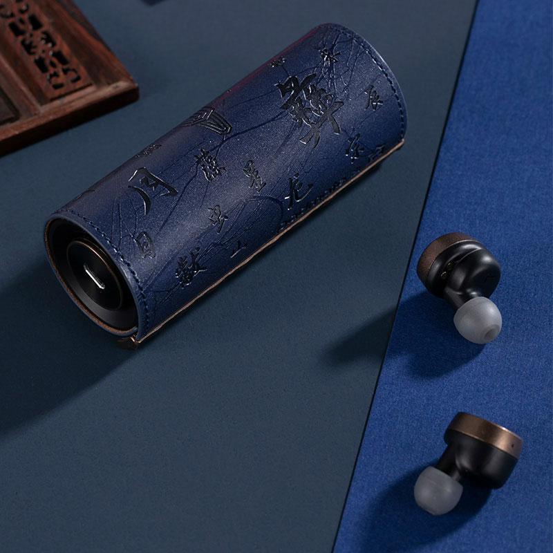 Padmate PaMu Scroll Plus IPX6 Bluetooth 5.0 TWS Ethnic Style In-ear Headphones